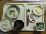 入院1日目 夕食