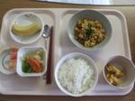入院1日目 昼食