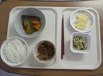 入院2日目 昼食