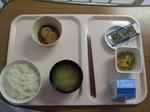 入院2日目 朝食