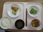 入院3日目 昼食