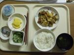 入院7日目 夕食