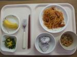 入院7日目 昼食