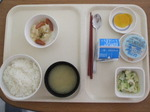入院7日目 朝食