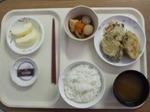 入院8日目 昼食