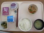 入院8日目 朝食