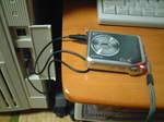 FinePix V10をUSB-PW03で充電